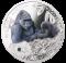 Goryl górski, 1 dolar, SOS dla świata - Zagrożone gatunki zwierząt (Srebrna Moneta)