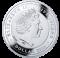 Srebrna Moneta - Owczarek niemiecki, 1 dolar, Seria: Przyjaciele Człowieka – Psy