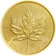 Liść Klonowy 1 oz. 50 dolarów kanadyjskich - Złota moneta bulionowa Maple Leaf